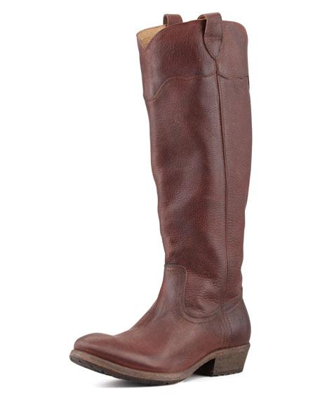 Carson Lug-Sole Riding Boot