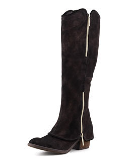 Donald J Pliner Devi Suede Knee Boot, Bronze