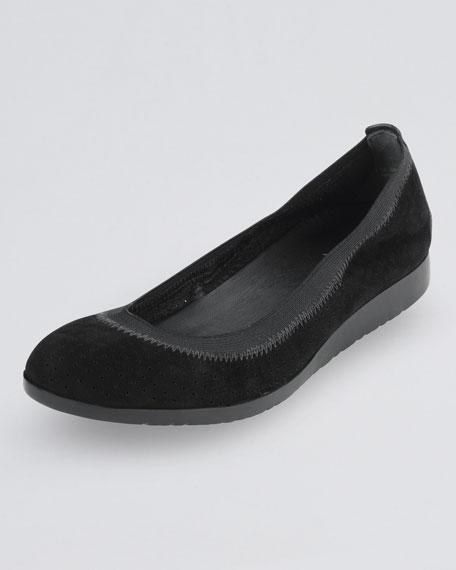 Gilmore Ballerina Flat, Black