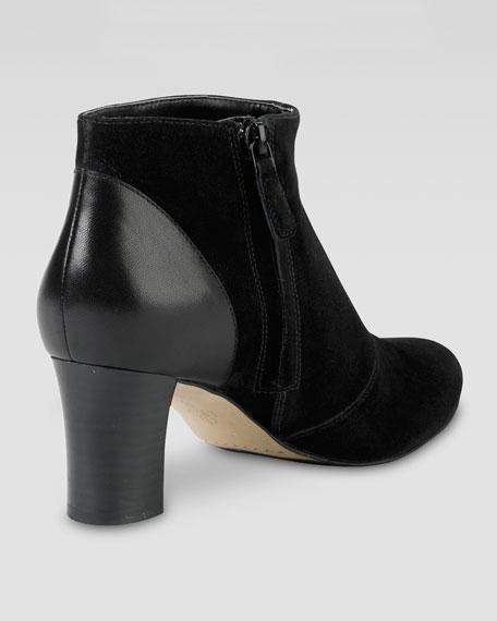 Miriam Short Boot, Black