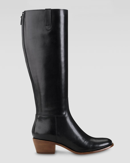 Womens Boots Cole Haan Wesley Tall Boot Black