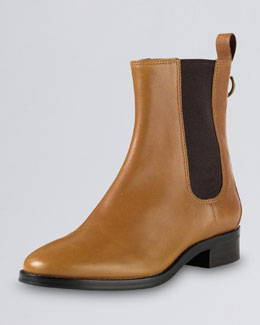 Cole Haan Evan Air Short Waterproof Leather Boot, Camello