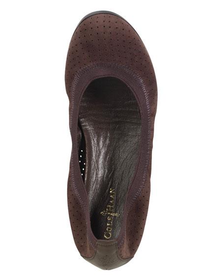 Gilmore Ballerina Flat, Chestnut