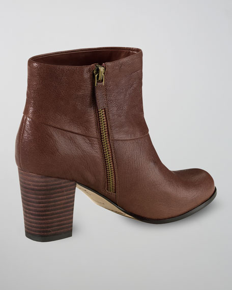 Cassidy Leather Bootie, Sequoia