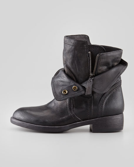 Ozita Leather Flex Boot, Black