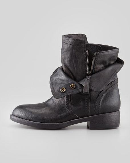 Ozita Leather Flex Boot, Black