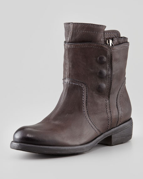 Ozita Leather Flex Boot, Granite
