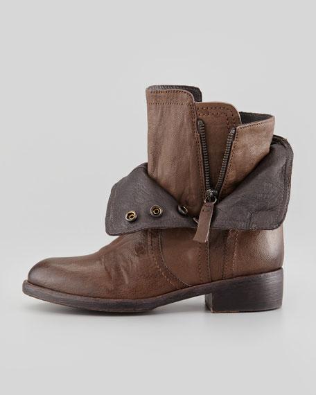 Ozita Leather Flex Boot, Light Brown