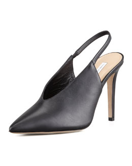 Diane von Furstenberg Beauty Pointy Toe Slingback Pump