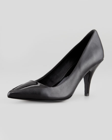 Lelia Pointy-Toe Pump, Black