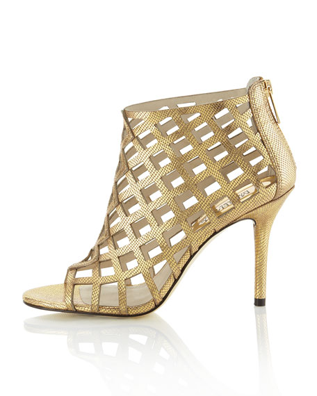 Aiden Laser-Cut Bootie