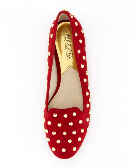 Ailee Studded Suede Flat
