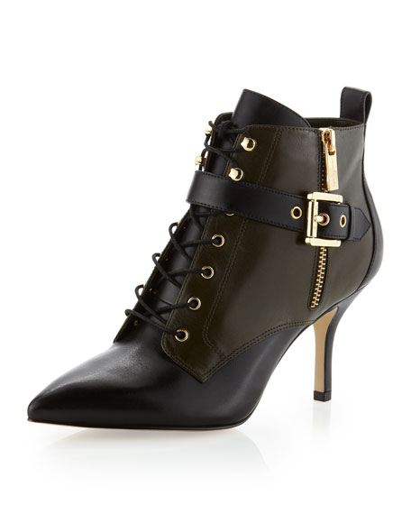 Brena Lace-Up Bootie