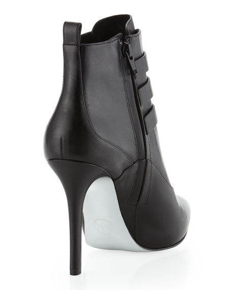 Brena Triple-Buckle Bootie