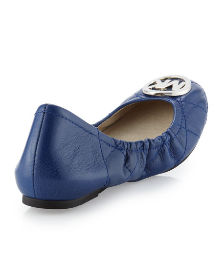 e415cc6802ed MICHAEL Michael Kors Fulton Quilted Ballerina Flat