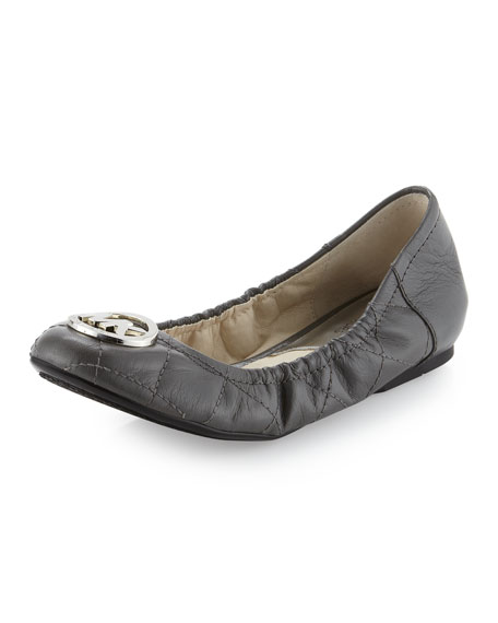 Fulton Quilted Ballerina Flat
