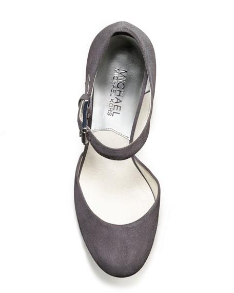 MICHAEL Michael Kors Haven Suede Platform Sandal