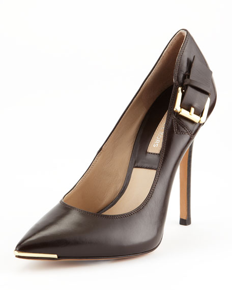 Audrey Buckle Pump