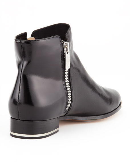 Cindra Side-Zip Ankle Boot