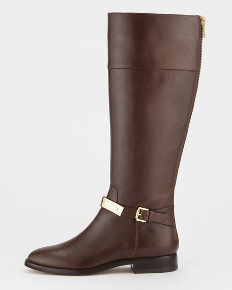 Morganna Leather Riding Boot