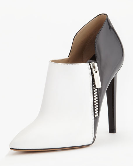 Samara Two-Tone Ankle Boot