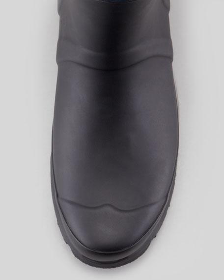 Rag & Bone Tall Two-Tone Zip Boot, Black/Navy