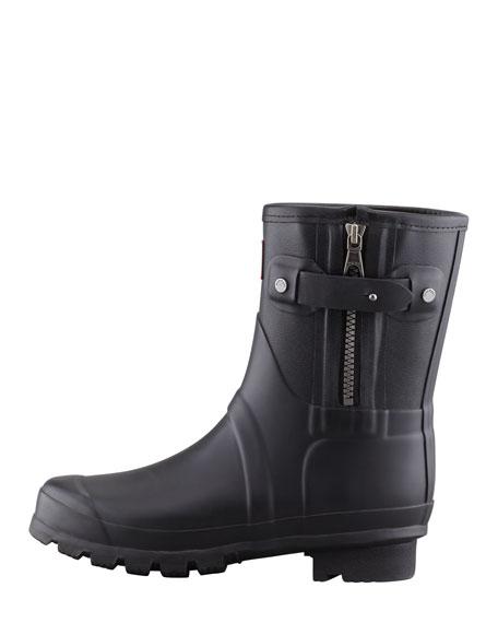 Rag & Bone Short Zip Boot, Black