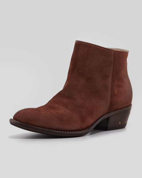Maratea Suede Ankle Boot, Tan