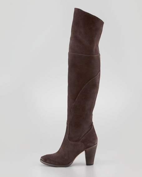 Lissandra Over-the-Knee Boot, Brown
