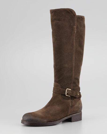 Aracelli Suede Knee Boot, Militare