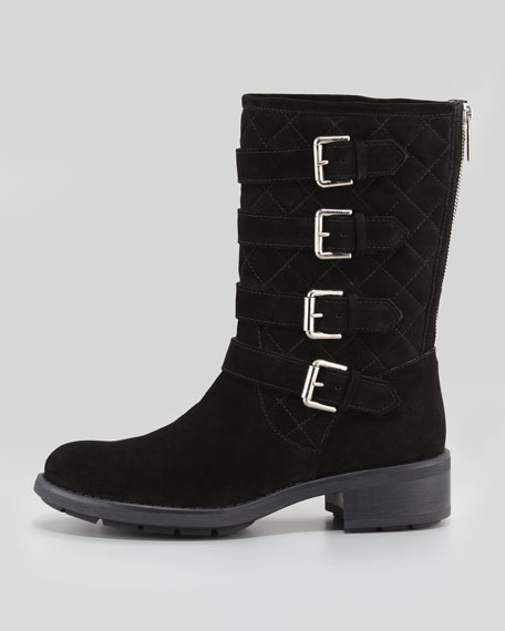 Sewell Suede Buckle Boot