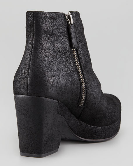 Coax Leather Bootie