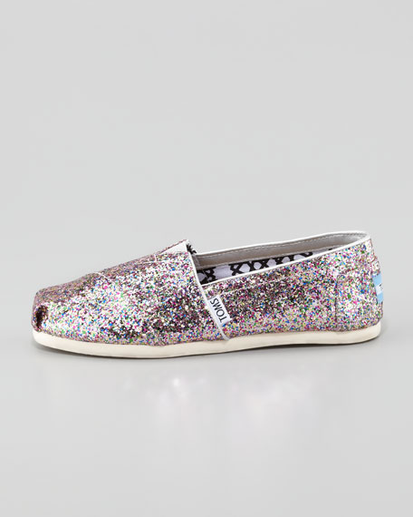 Glitter Slip-On, Bright Multi
