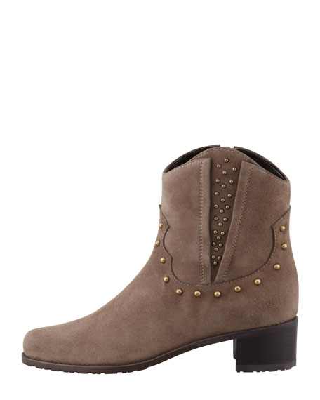 Studley Studded Suede Bootie