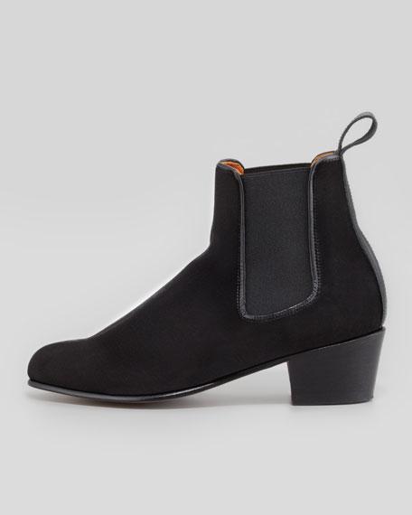 Cubana Velvet Gore Chelsea Boot