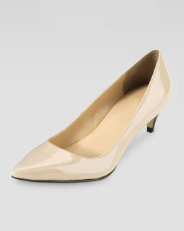 Cole Haan Air Juliana Patent Pump, Nougat