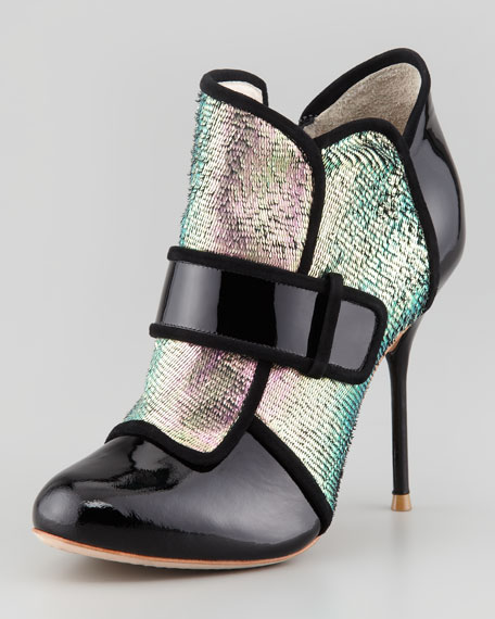 Amis Holographic Mermaid Bootie