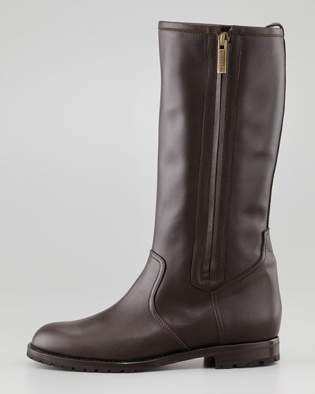 Ermetas Mid-Calf Side-Zip Boot