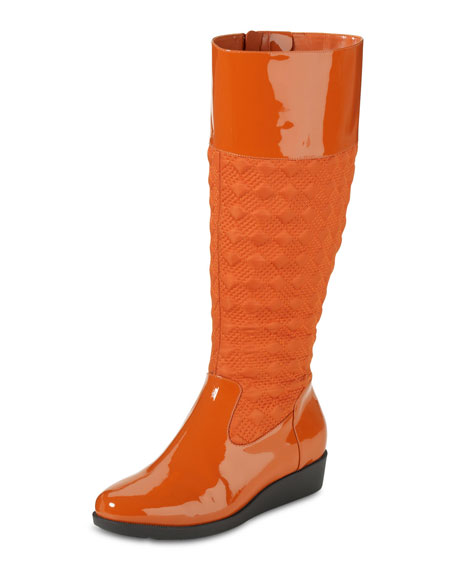 Air Tali Rain Boot, Orange