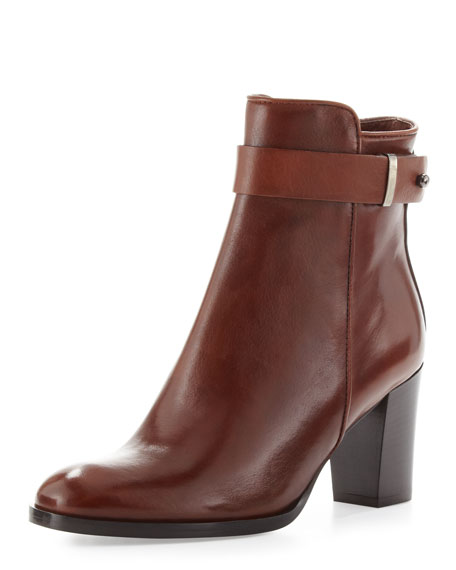 Beth Leather Ankle Boot, Tiziano