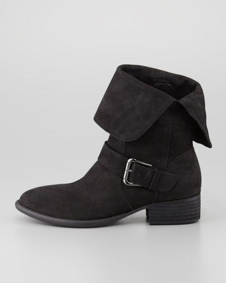 Pita Suede Ankle Boot, Black