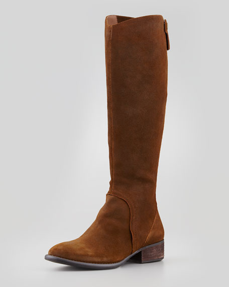 Peso Brushed Suede Boot, Brown
