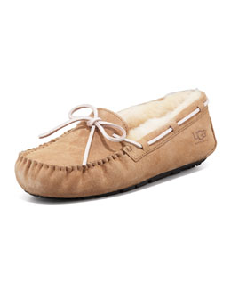 UGG Australia Dakota  Tie-Slipper, Tobacco