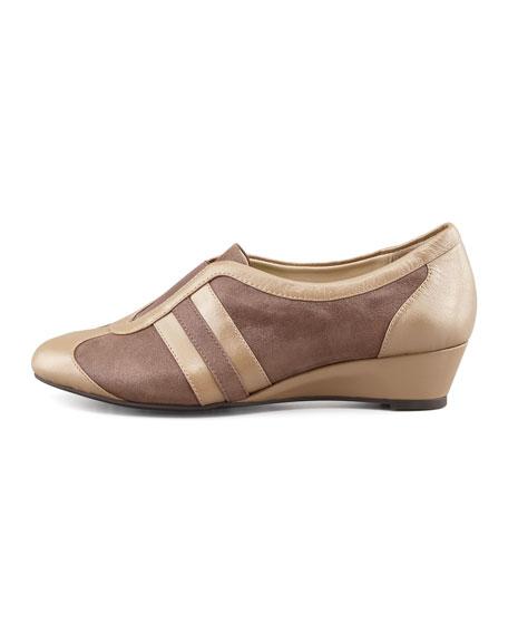 Paislee Shimmery Slip-On Wedge Sneaker