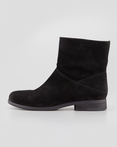 Jaunt Suede Ankle Boot, Black