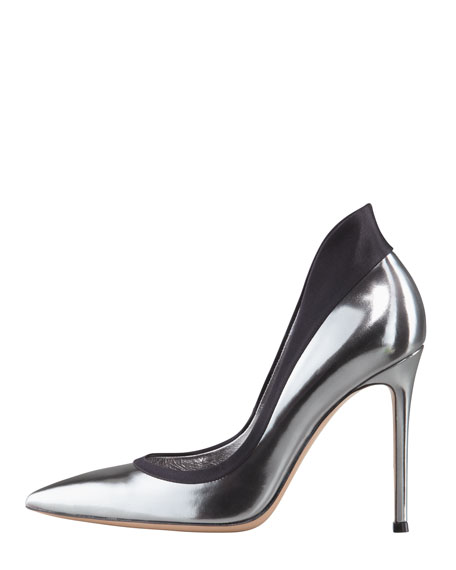Metallic Raised-Back Pump