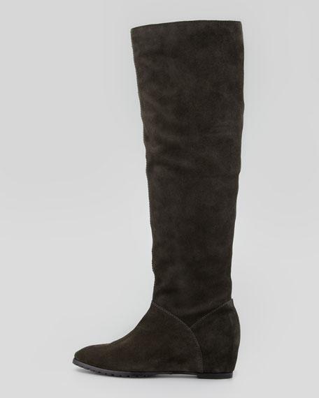 Vivi Suede Knee Boot