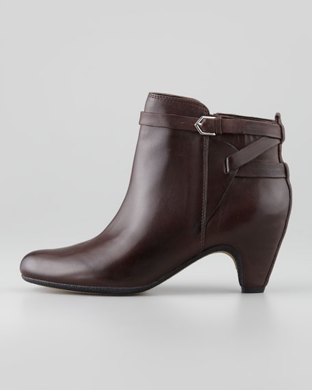 Maddox Leather Bootie, Espresso Bean