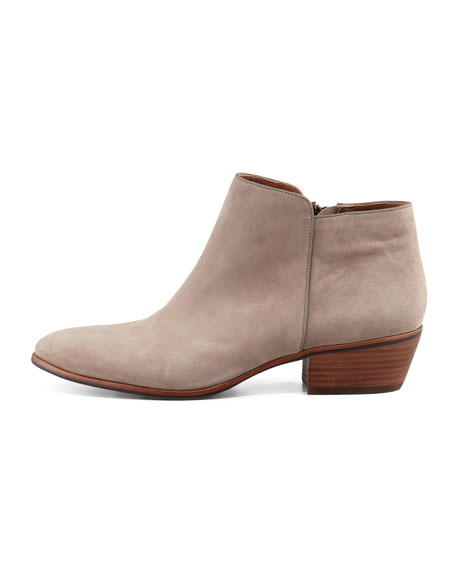 Petty Suede Ankle Boot, Putty