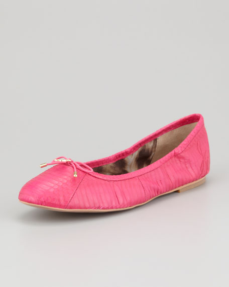 Felicia Ballerina Flat, Fuchsia